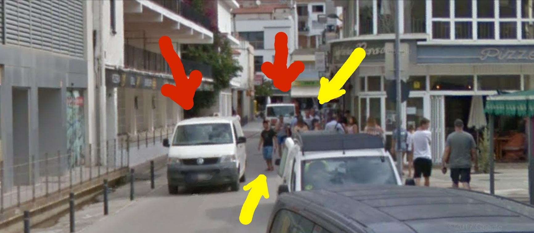 Pedestrians Estartit